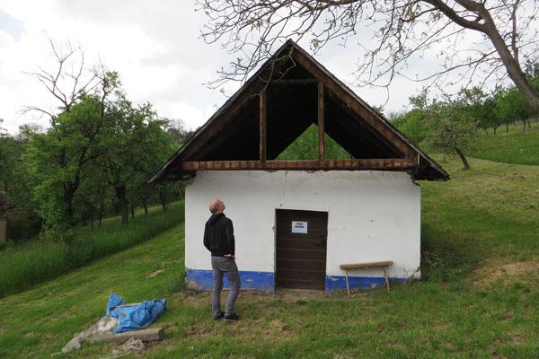 Konstrukce krovu staré vlčnovské búdy
