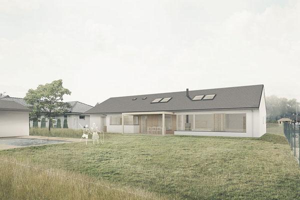 Projektová dokumentace rodinného domu v Nivnici