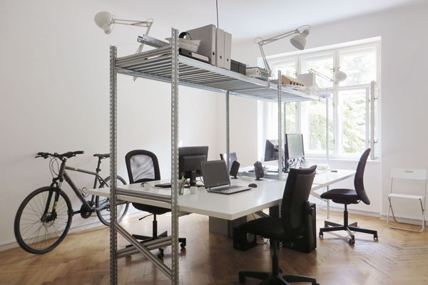 Interiér kanceláře Jurák Chvilíček architekti