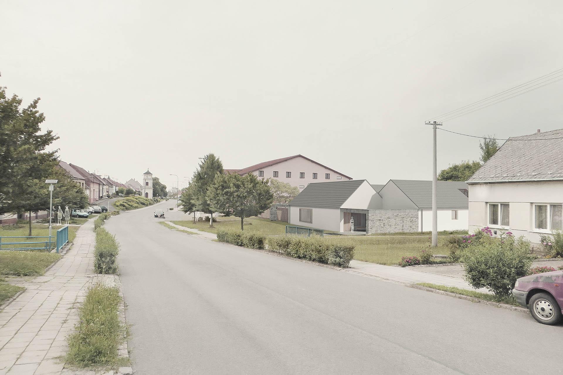 Rodinný dům ve Slavkově u Uherského Brodu