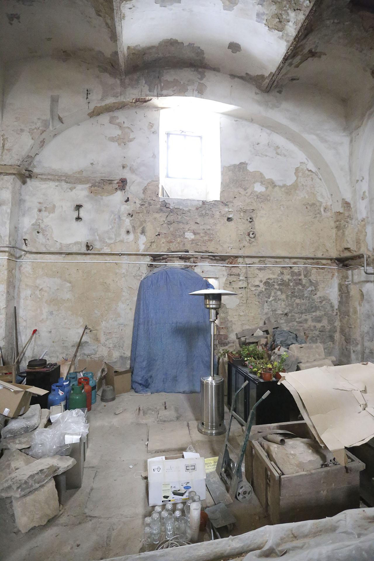 Klášterní pivovar v Oseku - prostor bývalé varny