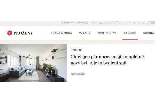 Realizace interiéru bytu v Uherském Brodě